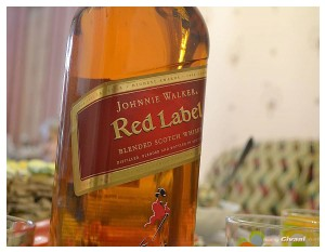 Givani.net - Drink • Напитки - Red Label Scotch Whisky Bottle